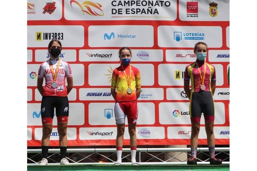 Castilla y León consigue 2 oros, 1 plata y 5 bronces en el CESA de ciclismo
