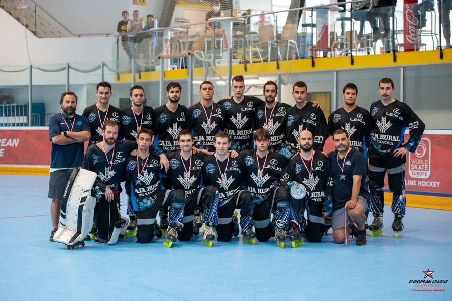 El equipo vallisoletano Caja Rural CPLV, subcampeón de Europa