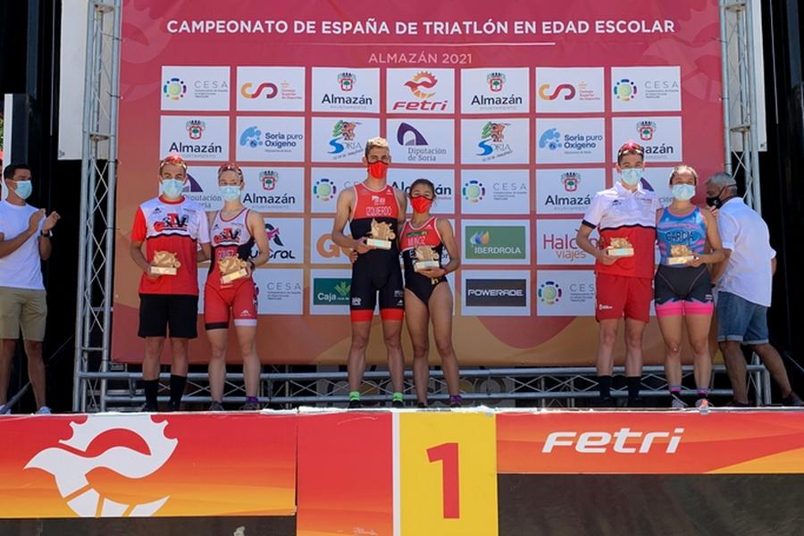 Muñoz e Izquierdo, nuevos ganadores regionales de Triatlón Sprint