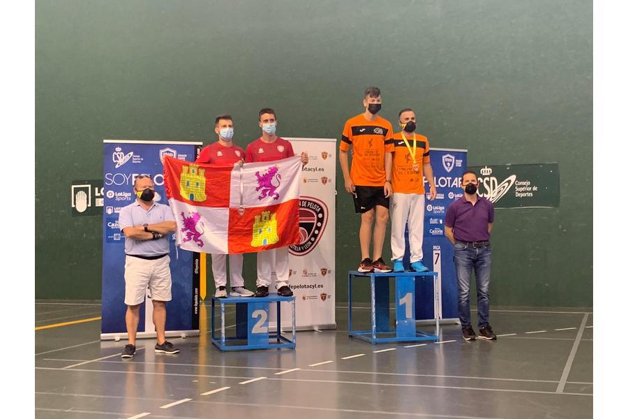 Castilla y León logra dos subcampeonatos de España en el Nacional de Frontenis y Paleta Goma