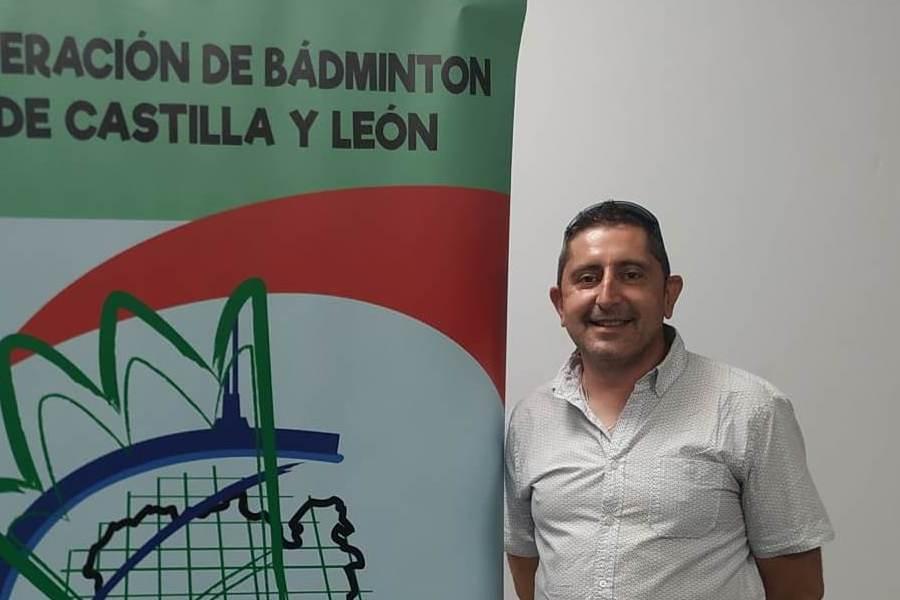 Juan Manuel Barrera Romera, nuevo presidente de la Federación de Bádminton de Castilla y León