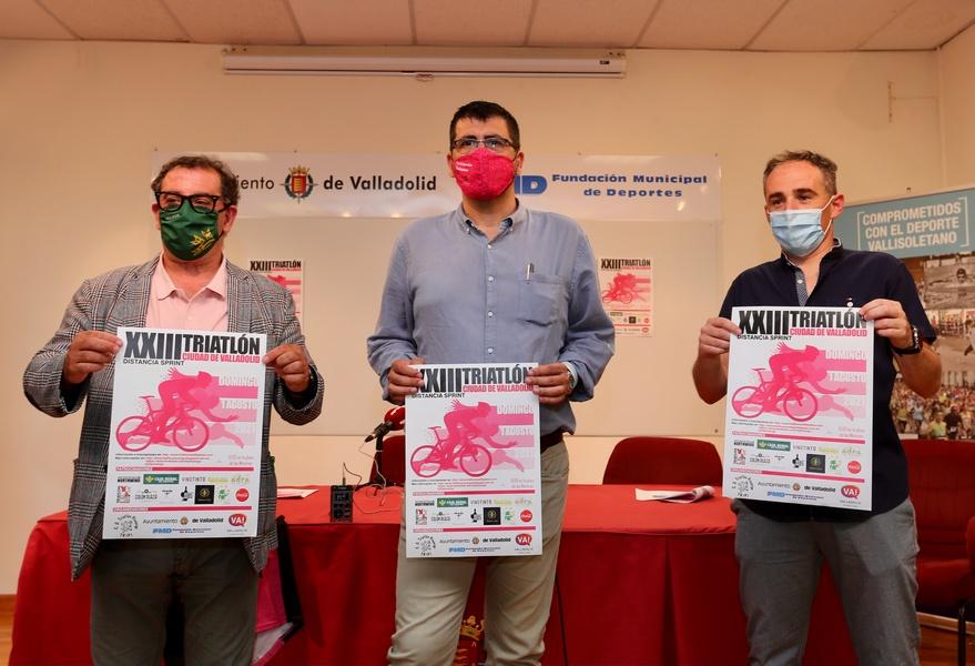 Vuelve el Triatlón Ciudad de Valladolid  con 200 participantes