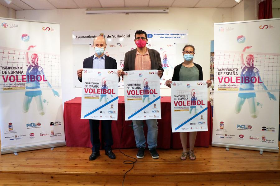 Valladolid acogerá el Campeonato de España de Voleibol de las Selecciones Autonómicas Infantil y Cadete