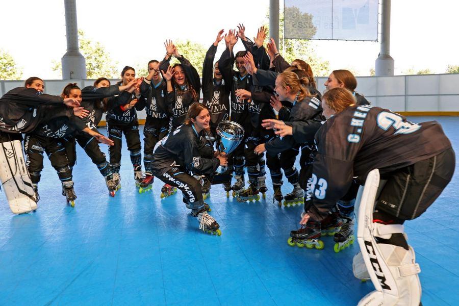 El Patinaje de Valladolid (CLPV) gana la Supercopa  de España femenina y masculina