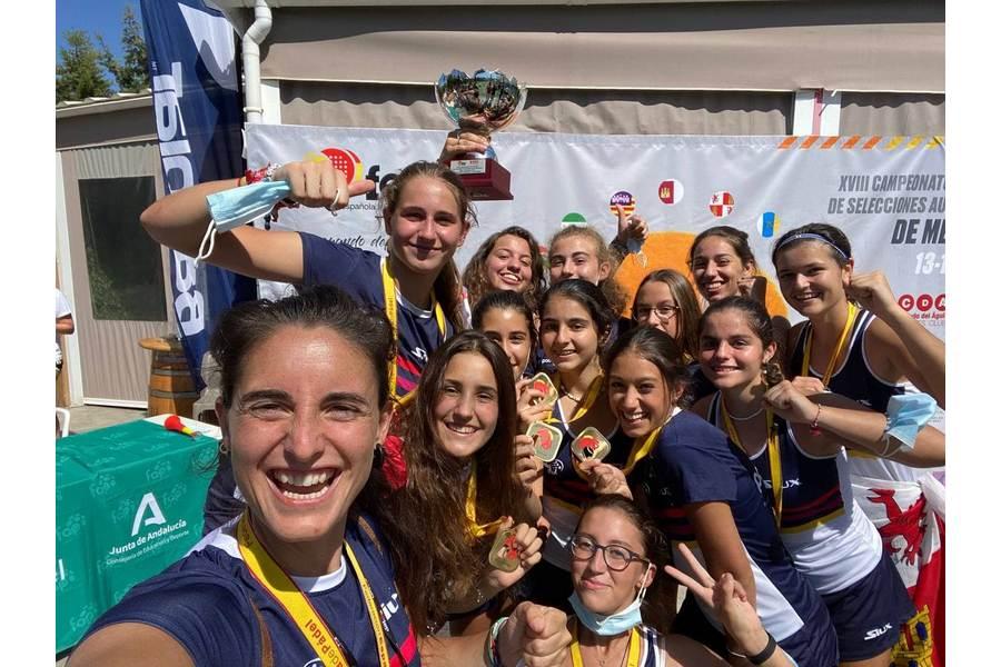 La Selección Femenina de Pádel de Menores se proclama campeona de España en Mijas