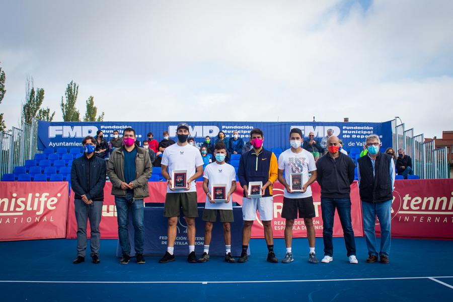 Jorge Hernando se proclama Campeón Grand Slam de Touchtennis Ciudad de Valladolid