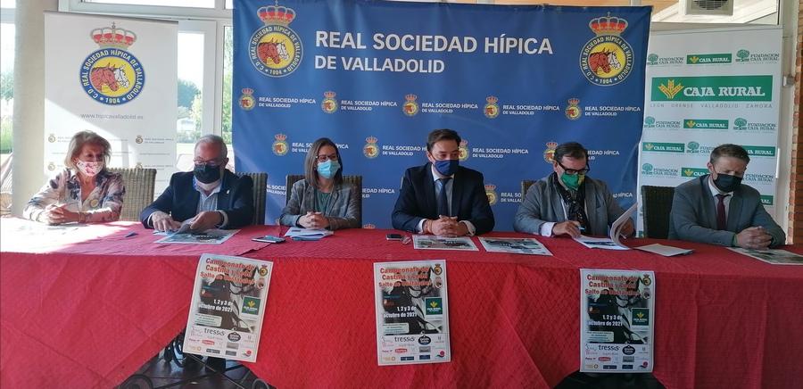 Valladolid acoge el campeonato de Hípica y la Copa Federación de Castilla y León