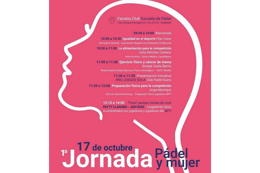 La Federación de Pádel de Castilla y León organiza una Jornada de Pádel y Mujer a favor de la AECC