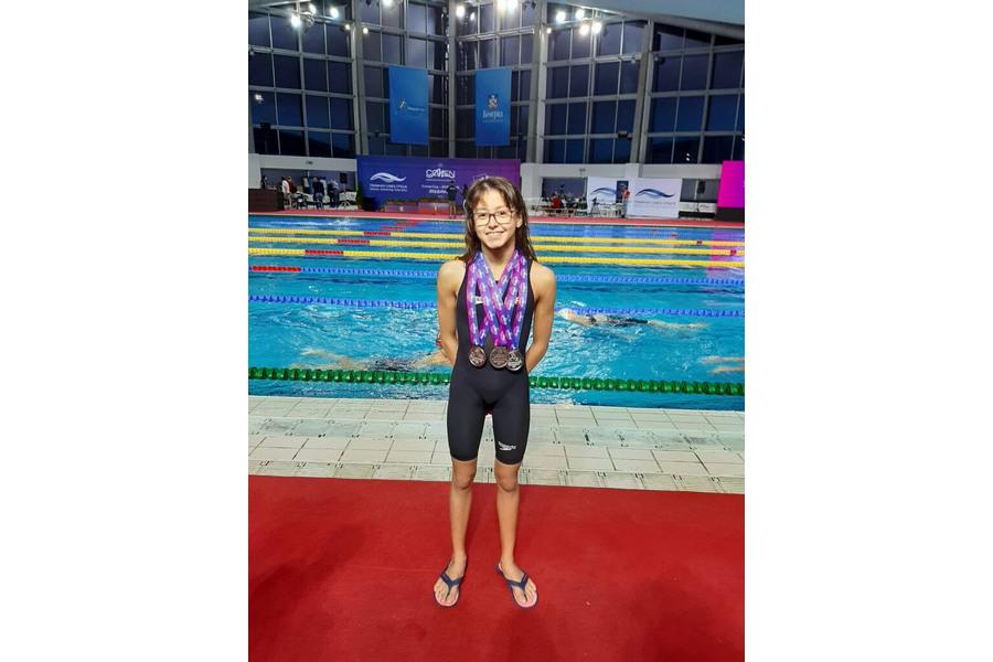 La vallisoletana Nayara Pineda consigue dos platas y un bronce en la 'Mediterranean Cup' de Belgrado